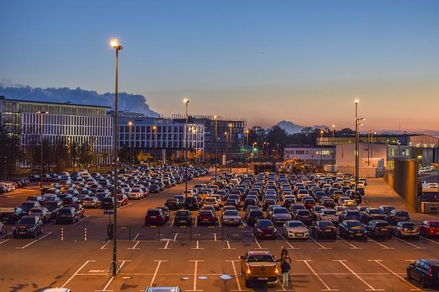 lang parkeren vliegveld